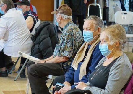 بیش از ۱۰۰۰،۰۰۰ فرد مسن در کبک واکسن زدهاند
