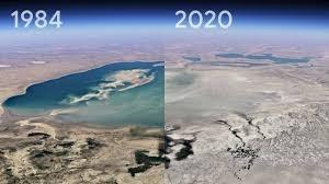 تغییرات اقلیمی را با چشم خودتان ببینید