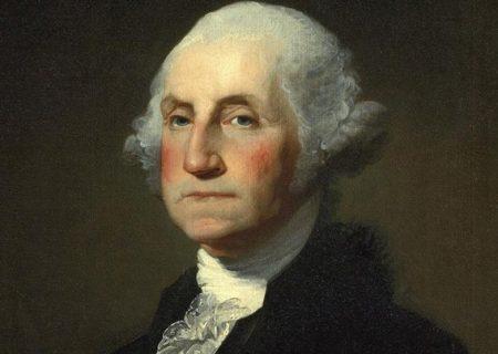 ۴۰ هزار دلار برای موی جورج واشنگتن