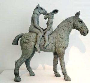 مجسمه سرقتی از گالری تورنتو