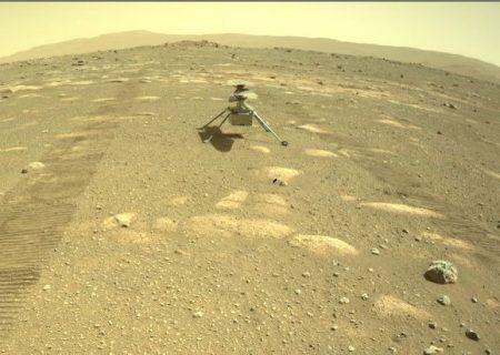 هلیکوپتر ناسا روی سیاره سرخ نشست