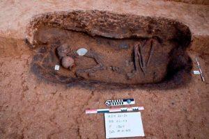 گور بیضی شکل متعلق به مصر باستان