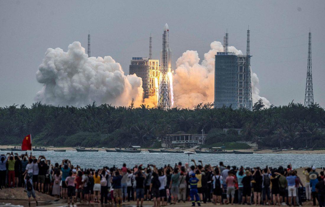 آخرین اخبار از وضعیت موشک چینی