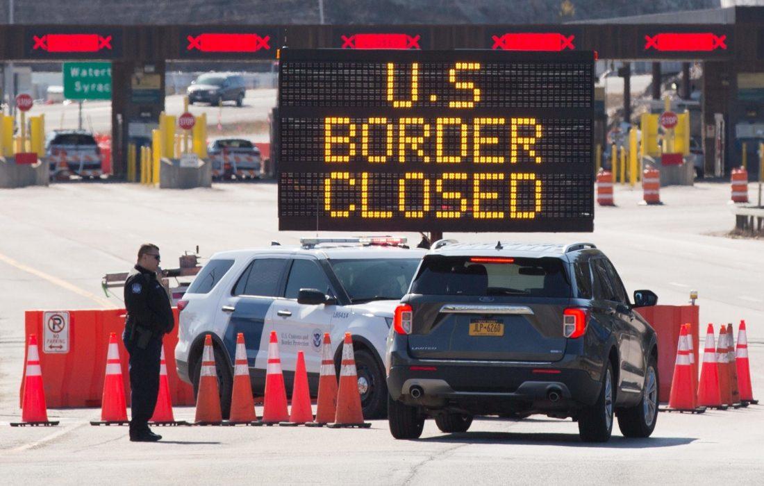 بازگشایی احتمالی مرز کانادا و آمریکا