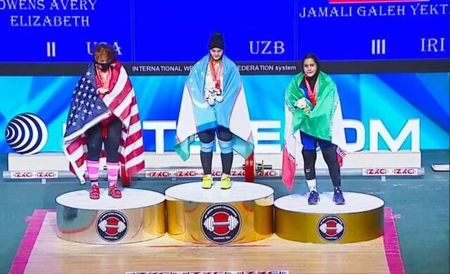 دختر ایرانی قهرمان جهان شد