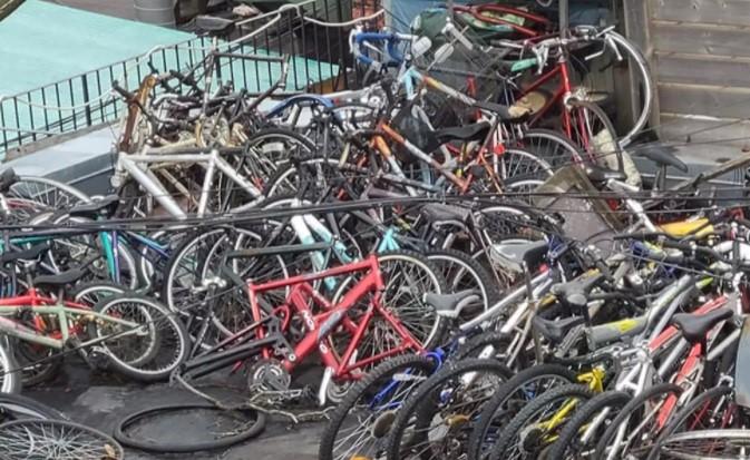 دزد دوچرخههای تورنتو یا چیدمان هنری؟