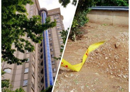 سقوط دبیر اول سفارت سوئیس از برجی در تهران