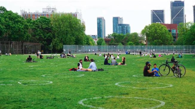 قوانین حضور در پارکهای تورنتو