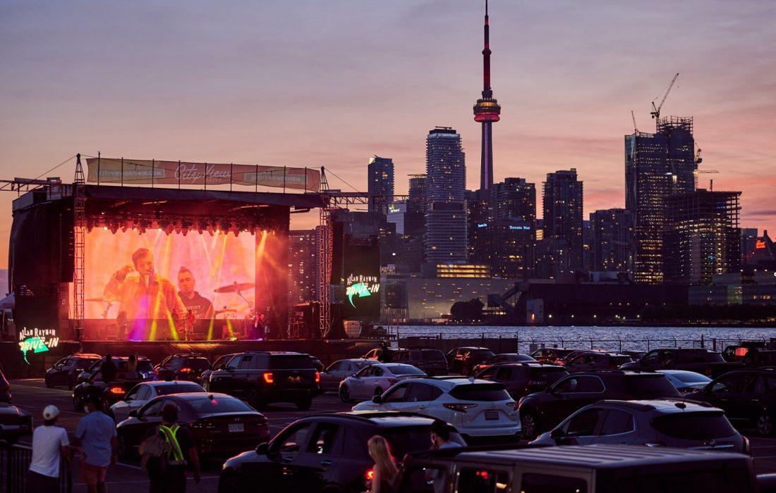 کنسرتهای تابستانه در CityView Drive-In تورنتو