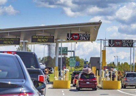 احتمال بازگشایی مرز کانادا و آمریکا