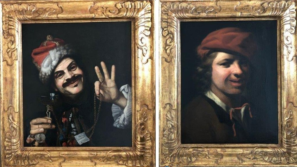 کشف ۲ تابلوی نقاشی با قدمت ۳۵۰ سال در سطل زباله