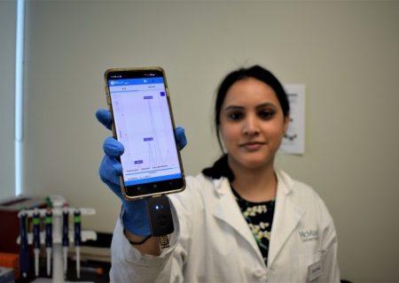 تشخیص عفونت بدن با کمک گوشی هوشمند