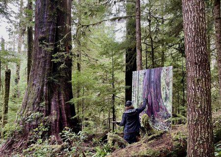 حفاظت از درختان به کمک نقاشی