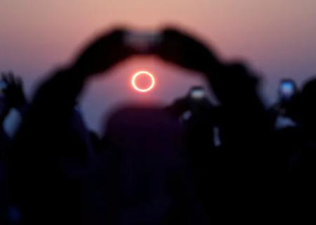حلقه آتش امروز در آسمان کانادا ظاهر میشود