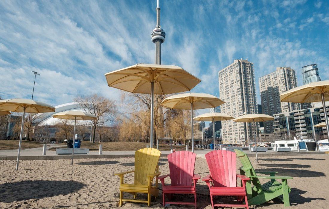 بازگشایی سواحل تورنتو