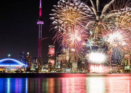 قوانین آتشبازی در روز ملی کانادا