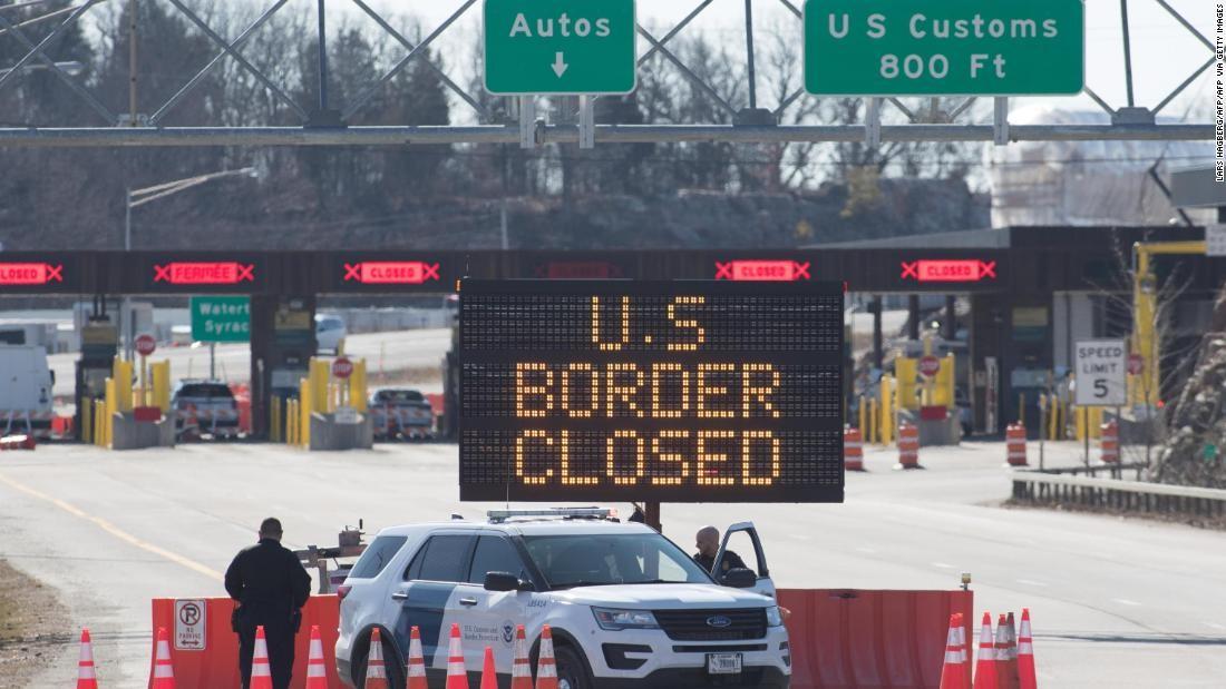 مرز کانادا و آمریکا بسته میماند