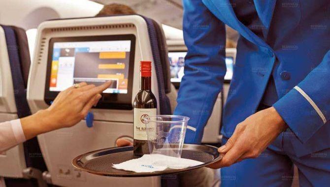 ممنوعیت نوشیدنیهای الکلی در پرواز