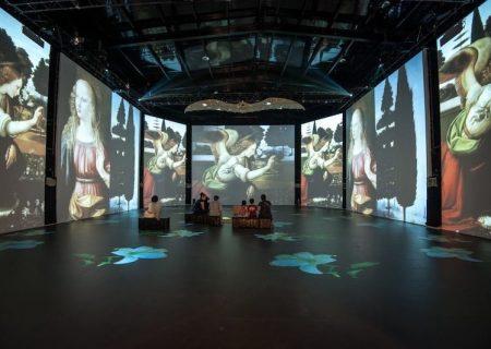 نمایش دیجیتالی نقاشیها و ماکتهای داوینچی در ونکوور