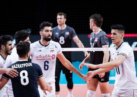 پیروزی سروقامتان ایران در برابر کانادا