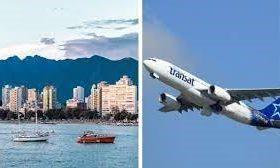 پرواز دو طرفه مونترال / ونکوور با کمتر از ۳۰۰ دلار