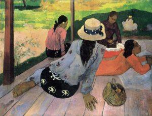 چرت ظهرگاهی - ۱۸۹۴ اثر پل گوگن