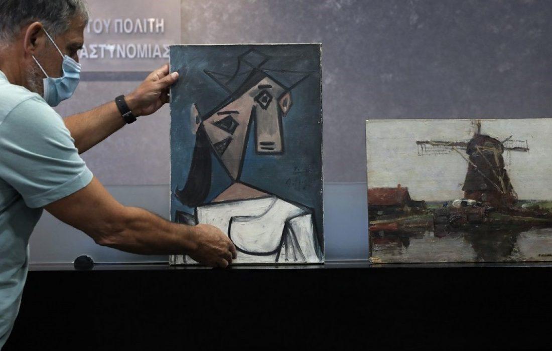 کشف دو تابلوی مسروقه از پیکاسوو موندریان پس از ۹ سال