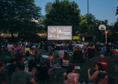 بازگشایی سینمای روباز در پارک لوریه