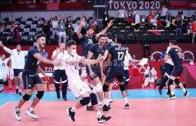 شروع موفقیتآمیز تیم والیبال ایران در توکیو