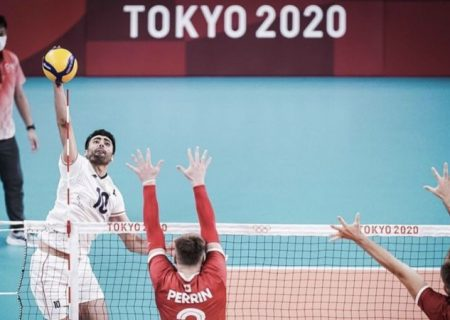شکست تیم والیبال ایران مقابل کانادا در المپیک توکیو
