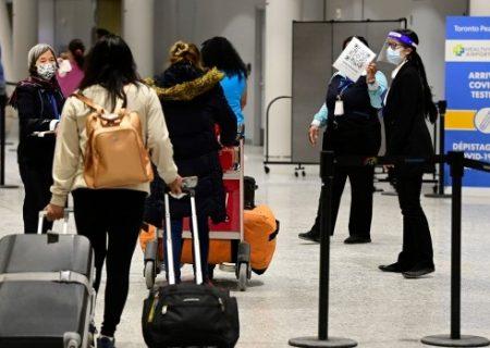 فرودگاههای کانادا مسافران واکسینه شده را جداسازی میکنند