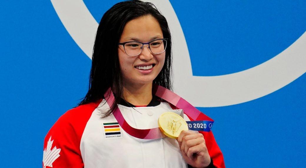 کسب اولین مدال طلای المپیک توسط شناگر کانادایی