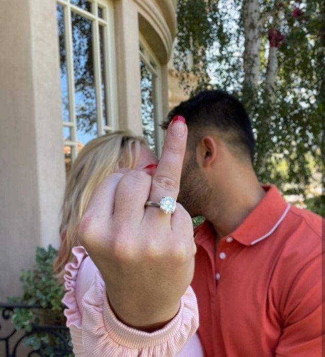بریتنی اسپیرز و سام اصغری نامزد کردند
