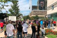 تجمع مخالفان واکسن در شهرهای کانادا