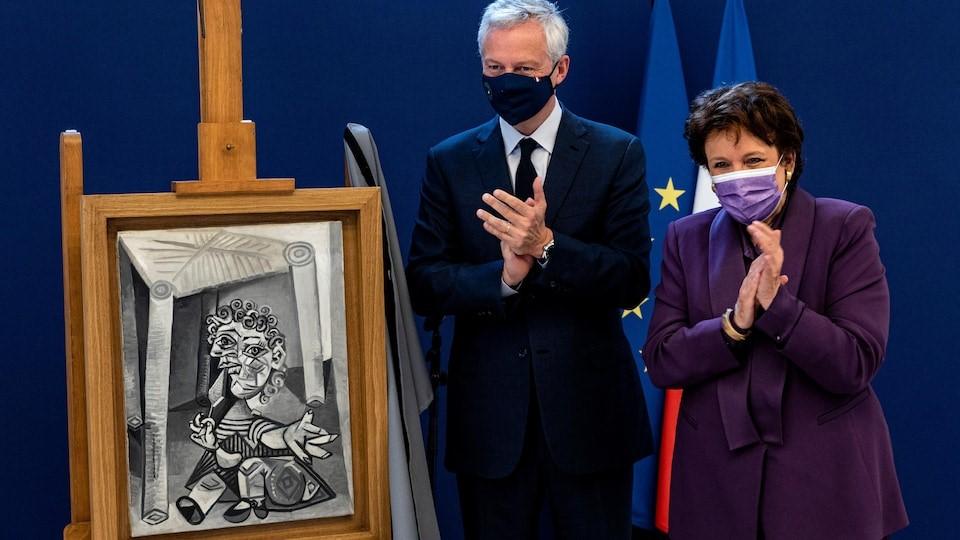 دختر پیکاسو ۸ اثر پدرش را به موزه پاریس اهدا کرد