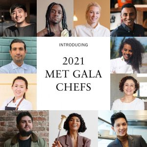 سرآشپزهای مت گالا 2021