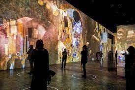 نمایشگاه سهبعدی آثار گوستاو کلیمت در تورنتو