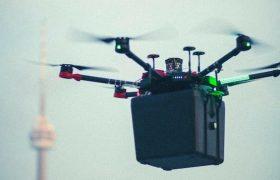 جابجایی ریه پیوندی با کمک یک هواپیمای بدون سرنشین
