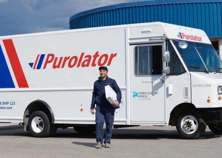استخدام در شرکت حمل و نقل Purolator