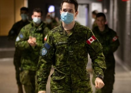 ۹۰ درصد پرسنل نظامی کانادا واکسینه شدند